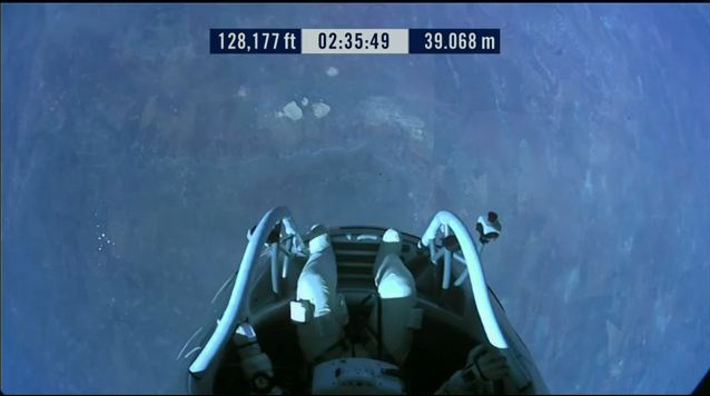 Red Bull Stratos Jump (Free Fall)